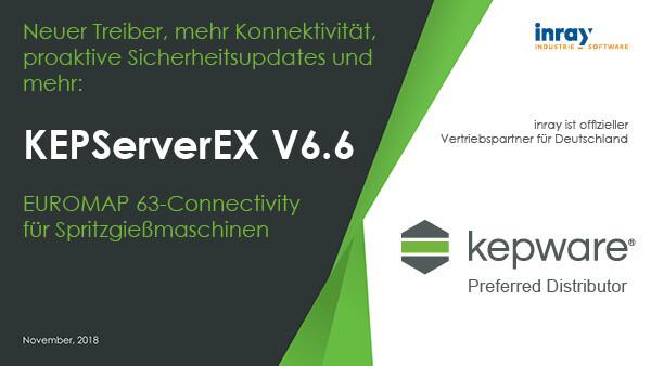EUROMAP 63 Connectivity für Spritzgussmaschinen mit KEPServerEX® Version 6.6